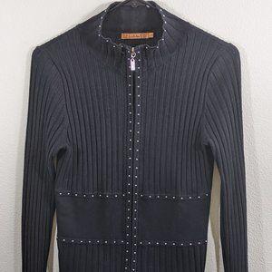 Belldini Womens Cardigan Sweater Small